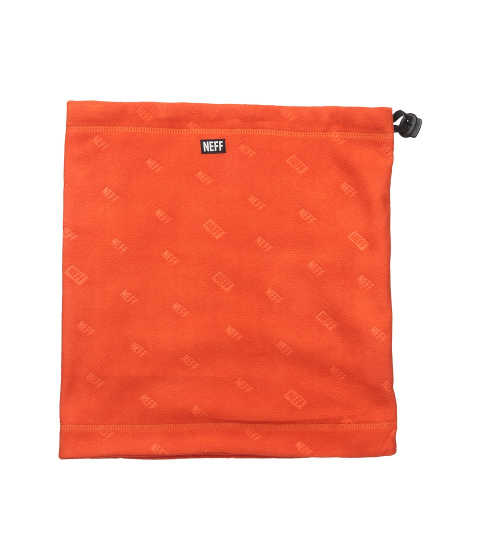 Neff - Shield Gaiter (Orange) Scarves