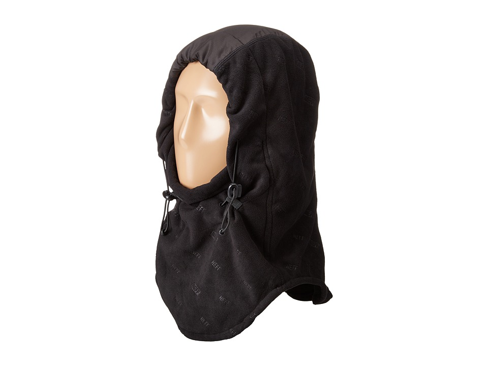 Neff - Riding Hood (Black 1) Snowboards Sports Equipment