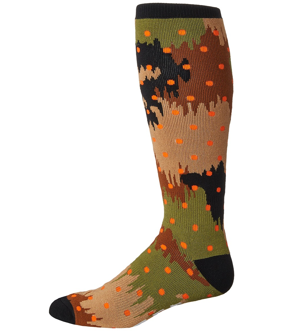 Neff - Brutus Snow Sock (Camo) Men's Knee High Socks Shoes