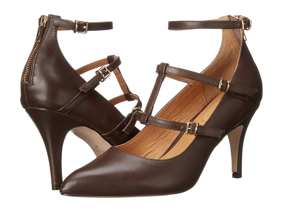 Corso Como - Carter (Dark Brown Leather) High Heels