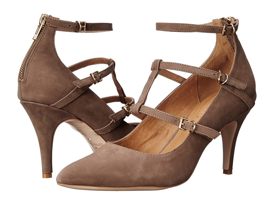 Corso Como Carter (Mid-Brown Nubuck) High Heels