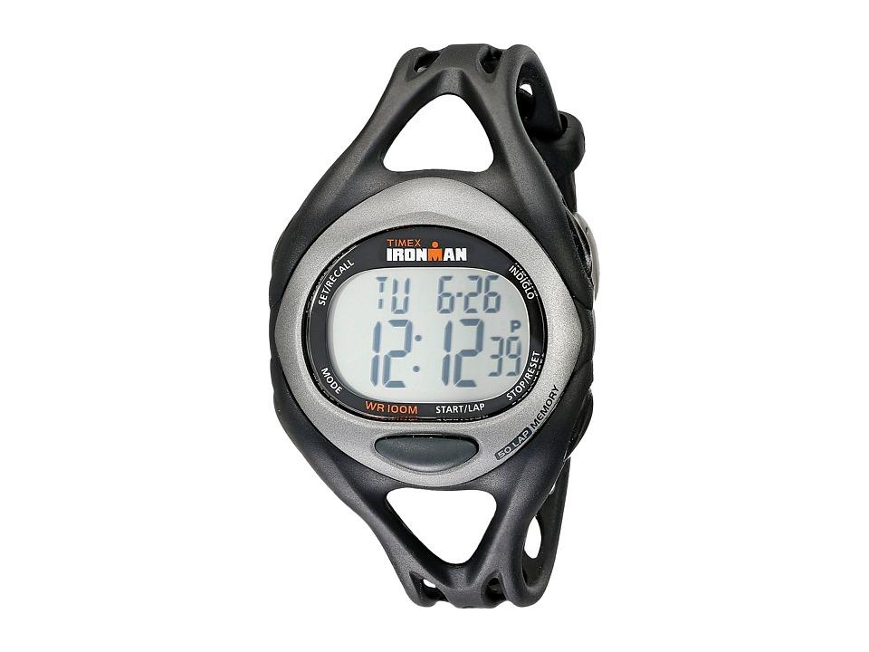 Timex - Ironman(r) Triathlon Sleek 5/1 (Black) Sport Watches