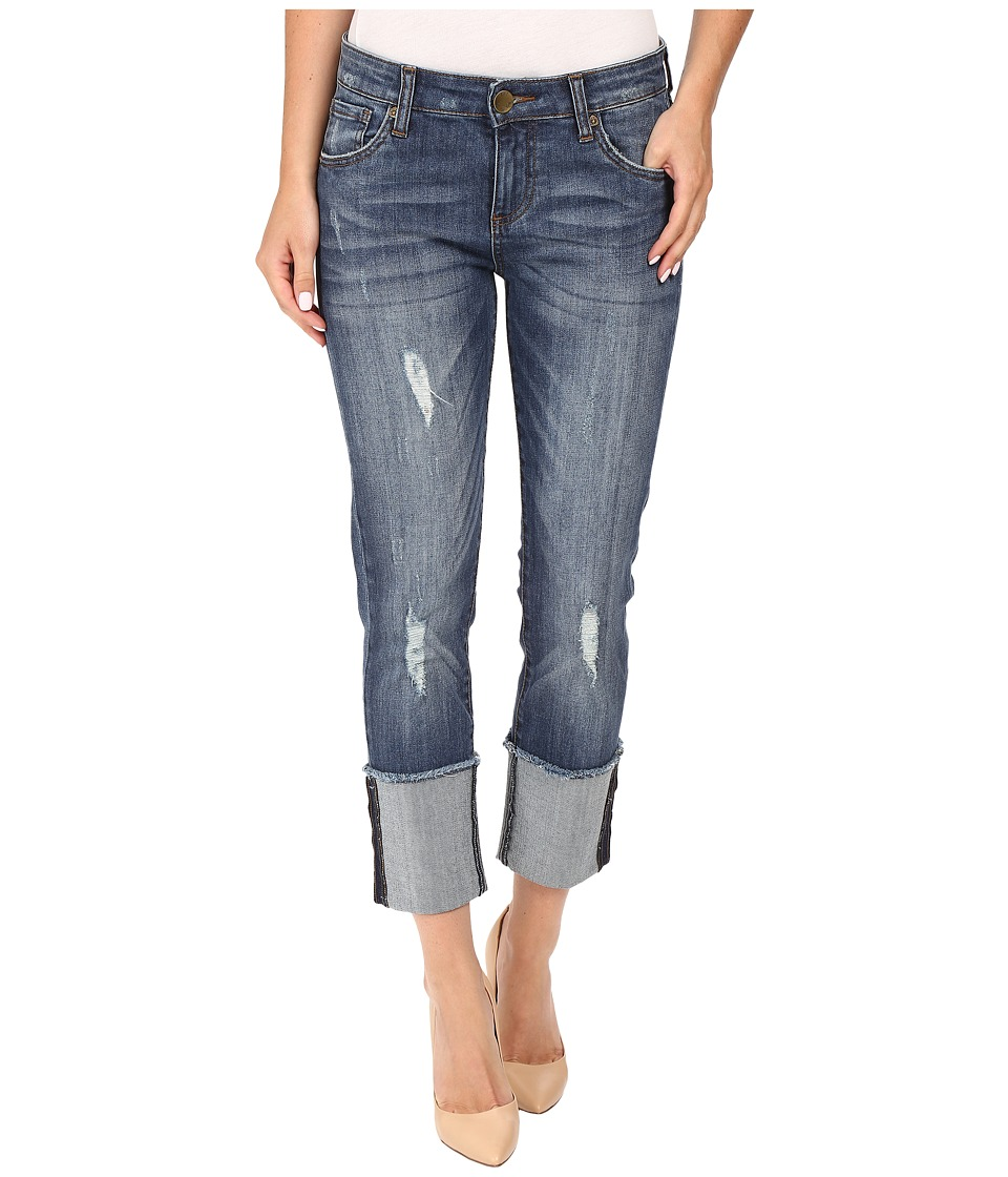 KUT from the Kloth - Bella Straight Leg with Wide Cuff Responsible Wash (Responsible Wash) Women's Jeans