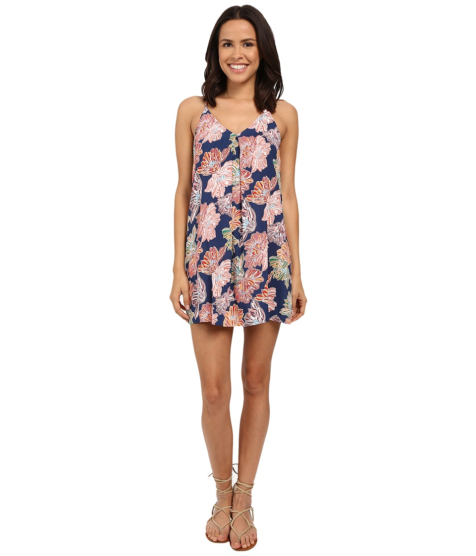 Michael Stars - Celeste Print Cami Racerback Dress (Nocturnal) Women's Dress