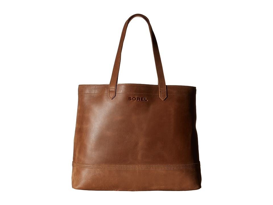 SOREL - Leather Tote (Elk) Tote Handbags
