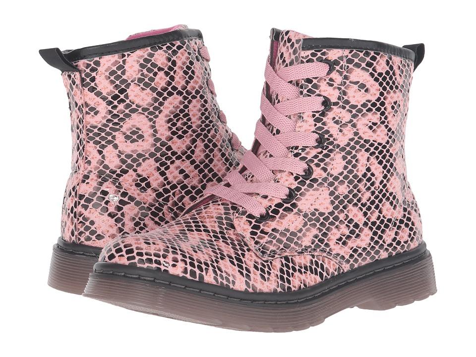 Jumping Jacks Kids - Balleto - Frenchy (Toddler/Little Kid) (Pink Leopard Snake) Girls Shoes