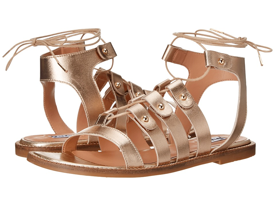 Dune London - Lorelli (Gold Leather) Women's Sandals