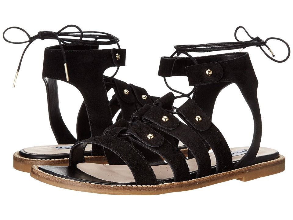 Dune London - Lorelli (Black Suede) Women's Sandals