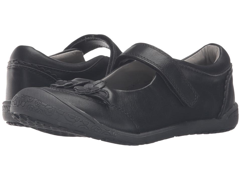 Jumping Jacks Kids - Balleto - Amber (Toddler/Little Kid/Big Kid) (Black) Girls Shoes