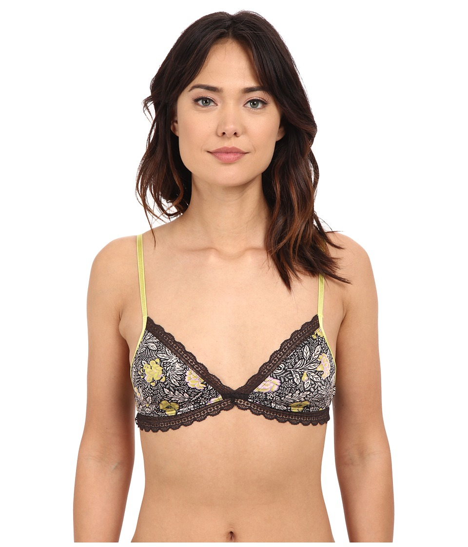 Free People - K.I.S.S. Soft Bra (Dark Night Combo) Women's Bra