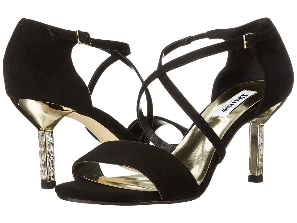 Dune London - Mindee (Black Suede) High Heels