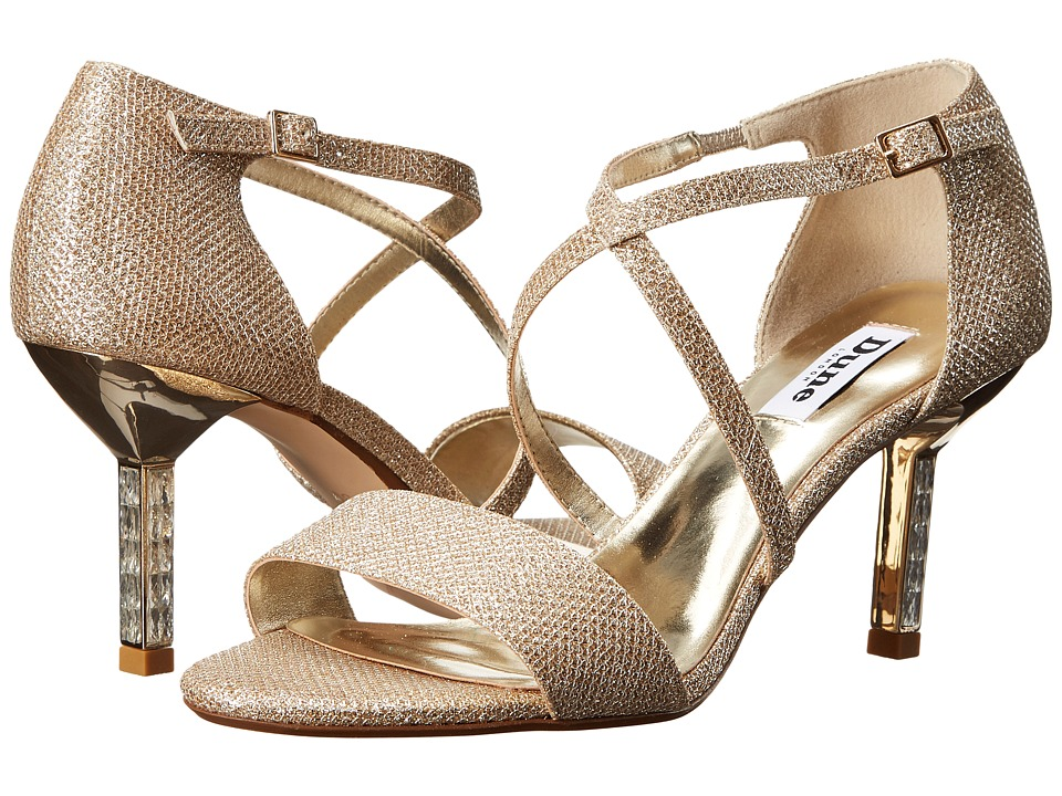 Dune London - Mindee (Gold Fabric) High Heels