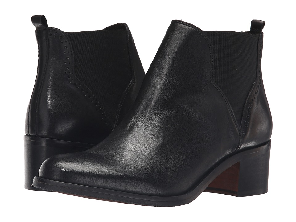 Dune London Parnell (Black Leather) Women