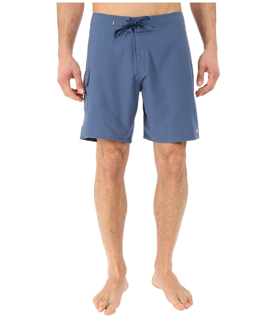 Quiksilver Waterman - Rocky 4 Boardshort (Ensign Blue) Men's Swimwear