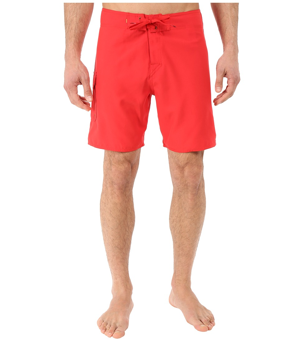 Quiksilver Waterman - Rocky 4 Boardshort (True Red) Men's Swimwear