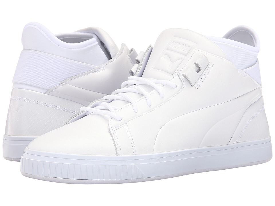 PUMA - Play Prm (PUMA White) Men's Court Shoes