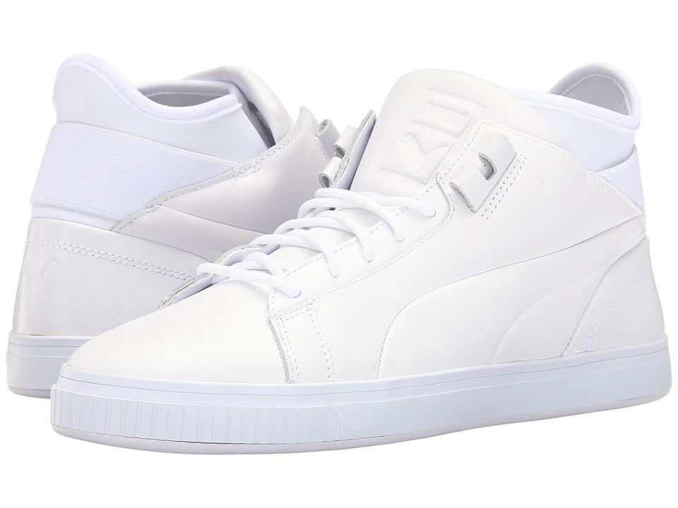 PUMA - Play Prm (PUMA White) Men's Court Shoes