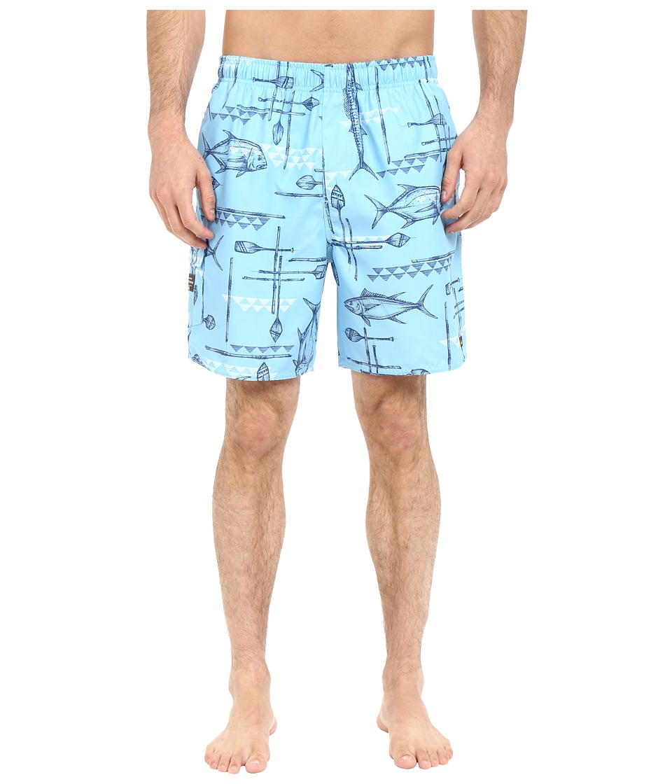 Quiksilver Waterman - West Palm Volley Boardshorts (Clean Air) Men's Swimwear