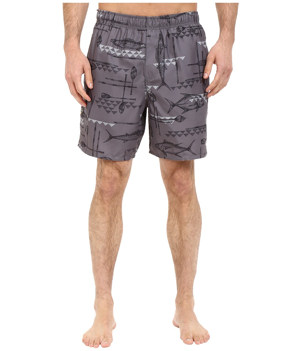 Quiksilver Waterman West Palm Volley Boardshorts (Castlerock) Men