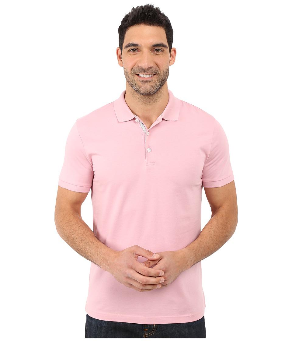 James Campbell - Laguna Polo (Flamingo) Men's Short Sleeve Knit