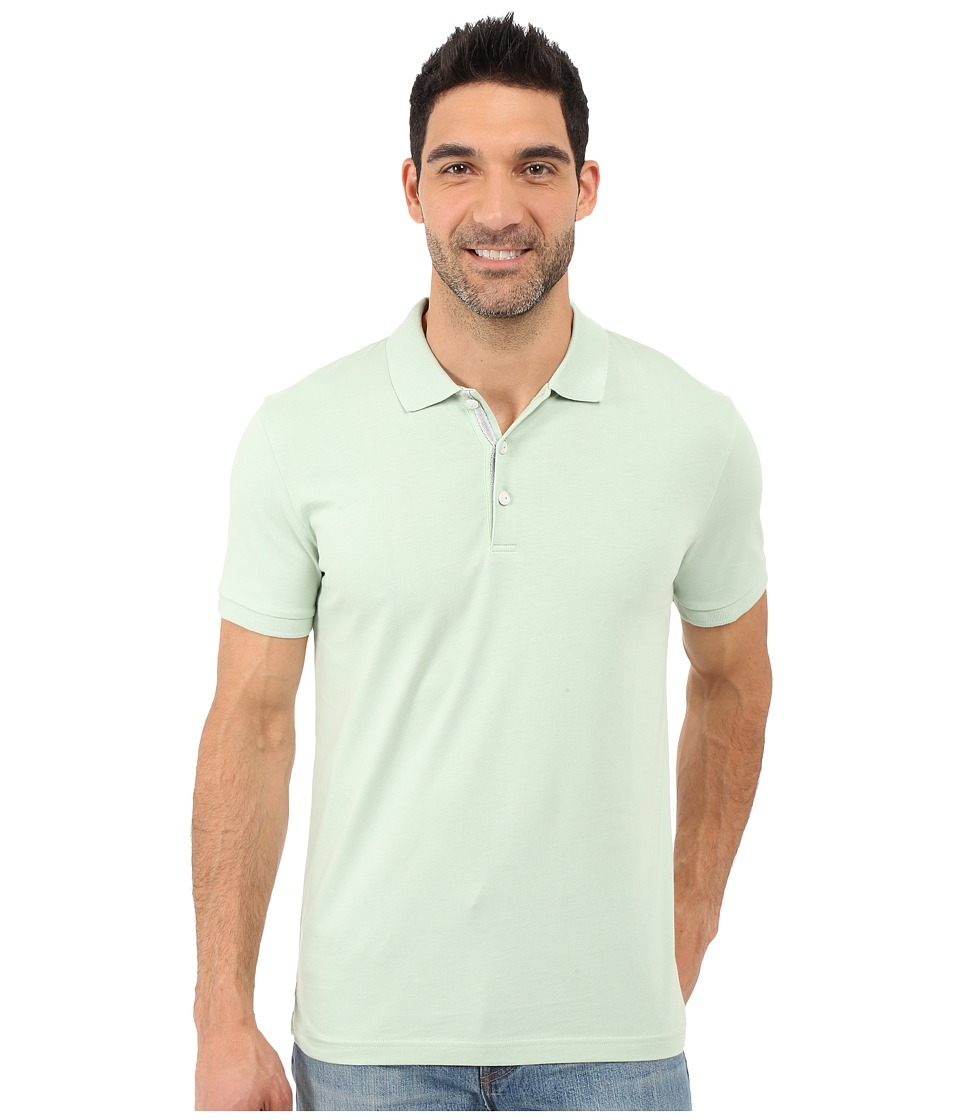 James Campbell - Laguna Polo (Celery) Men's Short Sleeve Knit