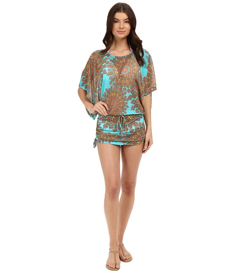 Luli Fama - Suenos Estrellados South Beach Dress Cover-Up (Multi) Women's Dress