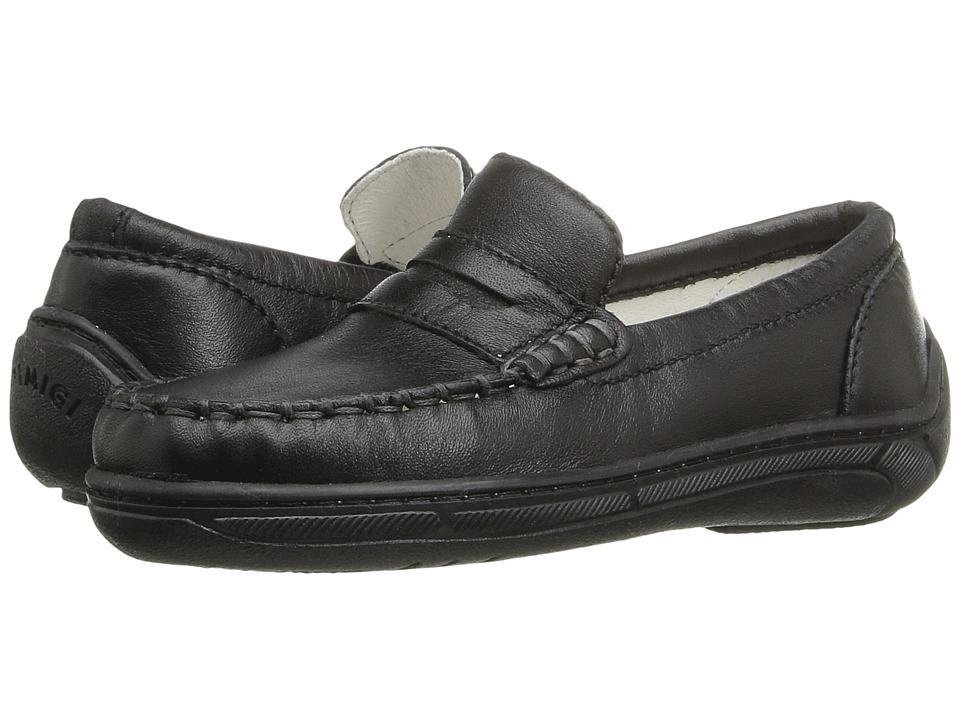 Primigi Kids Choate (Toddler/Little Kid) (Black Nappa) Boys Shoes