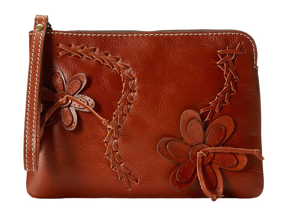 Patricia Nash - Cassini Wristlet (Tan) Wristlet Handbags