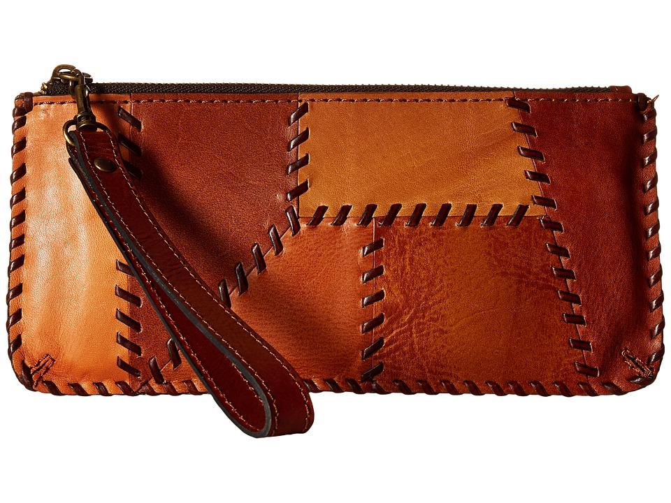 Patricia Nash - St. Croce Wristlet (Patchwork Tan) Wristlet Handbags