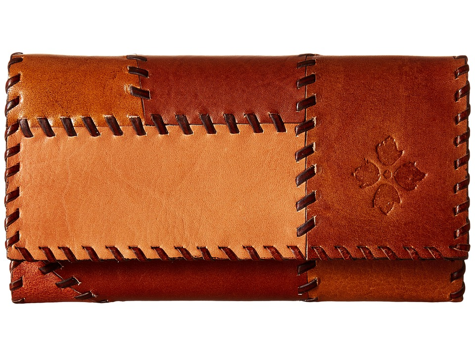 Patricia Nash - Terresa Wallet (Patchwork Tan) Wallet Handbags