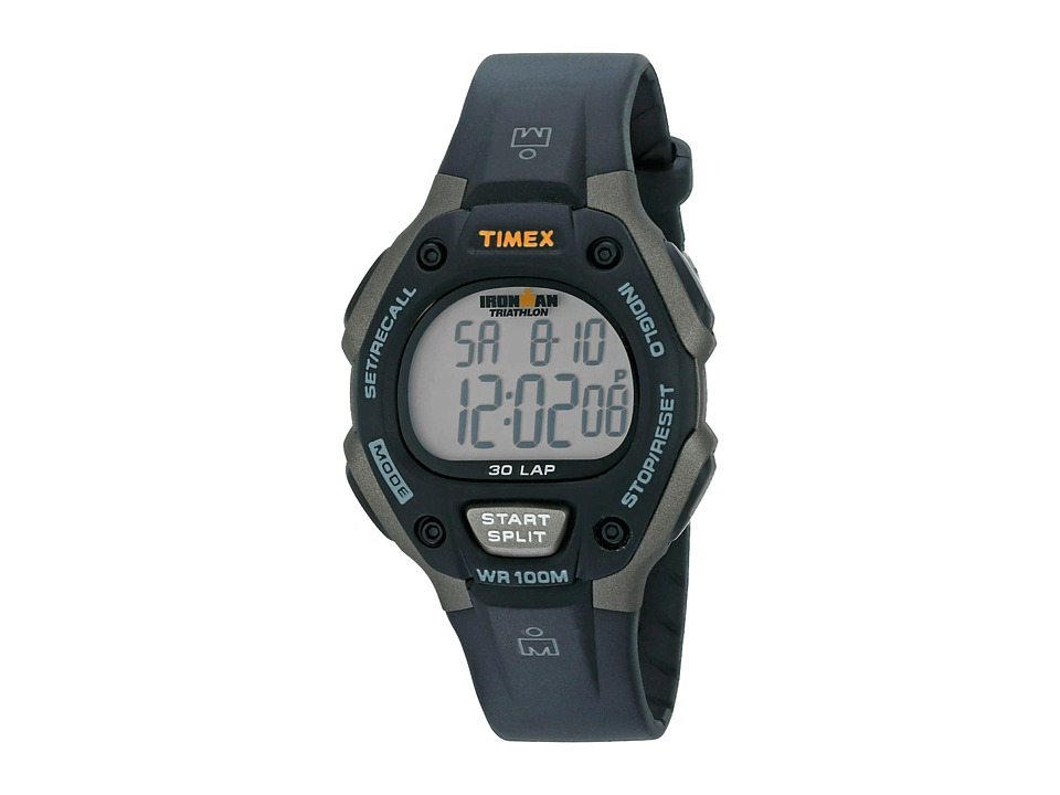 Timex - Ironman 30 Lap Full (Grey/Black) Sport Watches