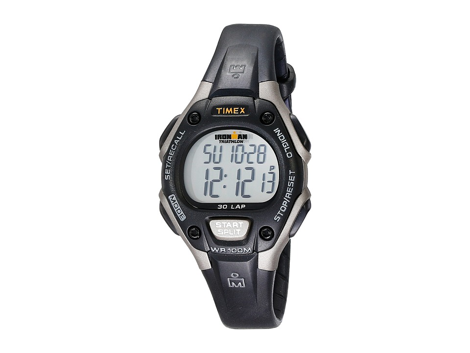 Timex - Ironman 30-Lap Mid (Grey/Black) Sport Watches