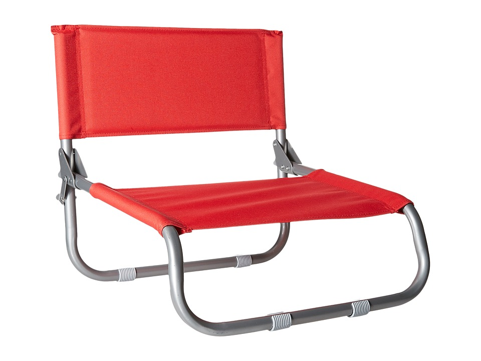 RVCA - Lazyday Beach Chair (Red) Outdoor Sports Equipment