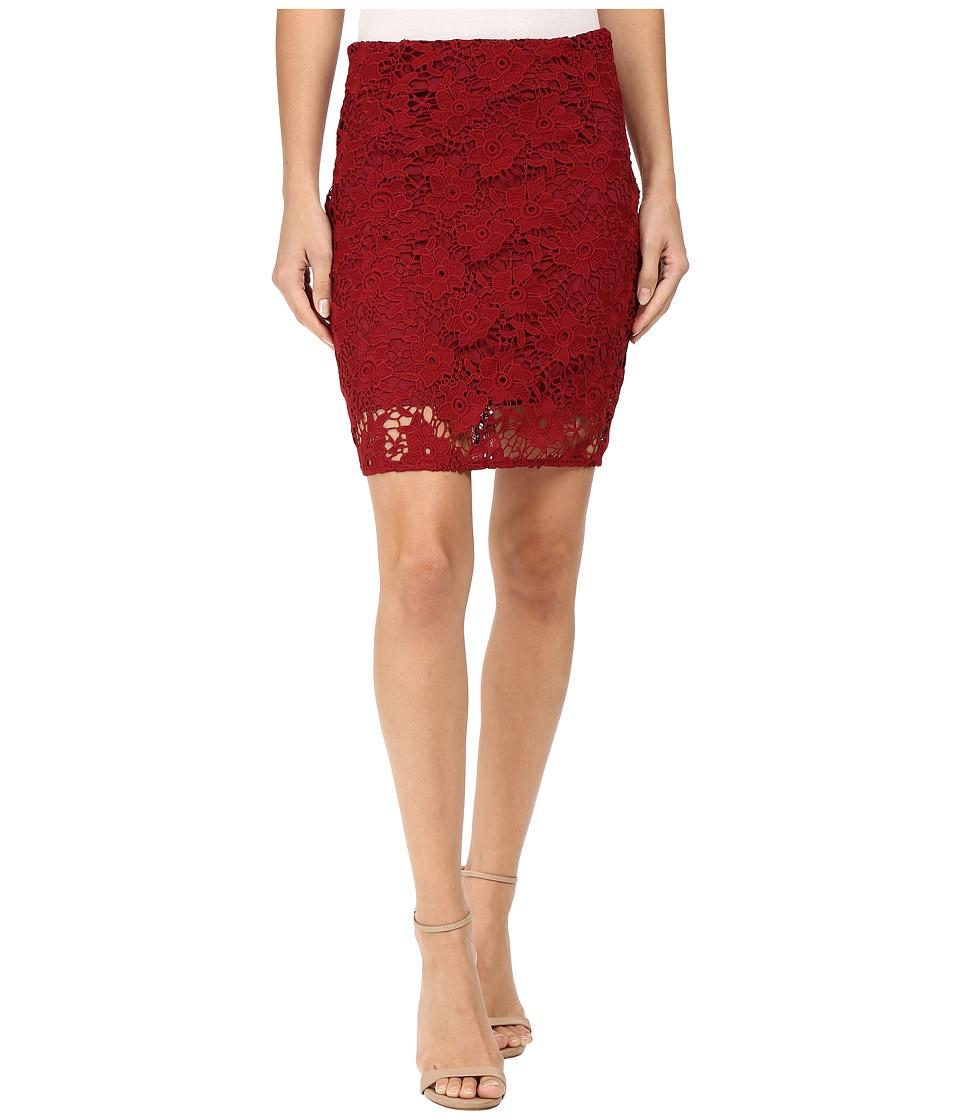Sanctuary Hand Craft Skirt (Boheme Red) Women