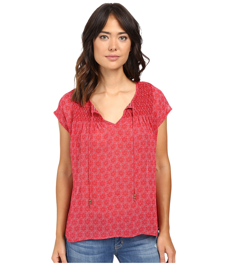 Sanctuary - Una Blouse (Summer Berry Mandala) Women's Blouse
