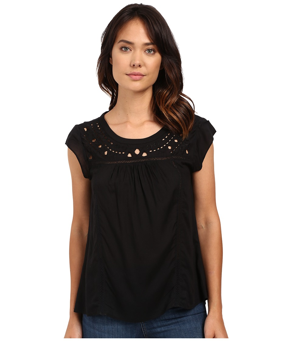 Sanctuary - Paige Blouse (Black) Women's Blouse