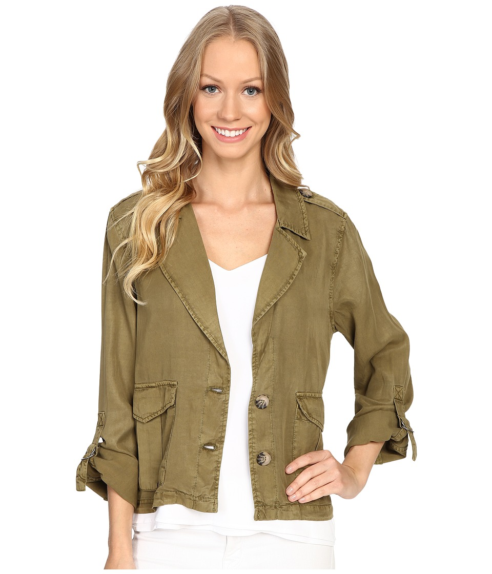Sanctuary - Desert Shirt Jacket (Moss) Women's Coat
