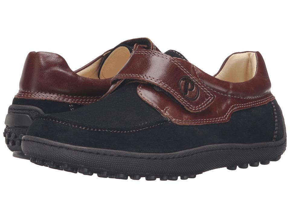 Primigi Kids - Edward (Big Kid) (Blue/Brown) Boy's Shoes