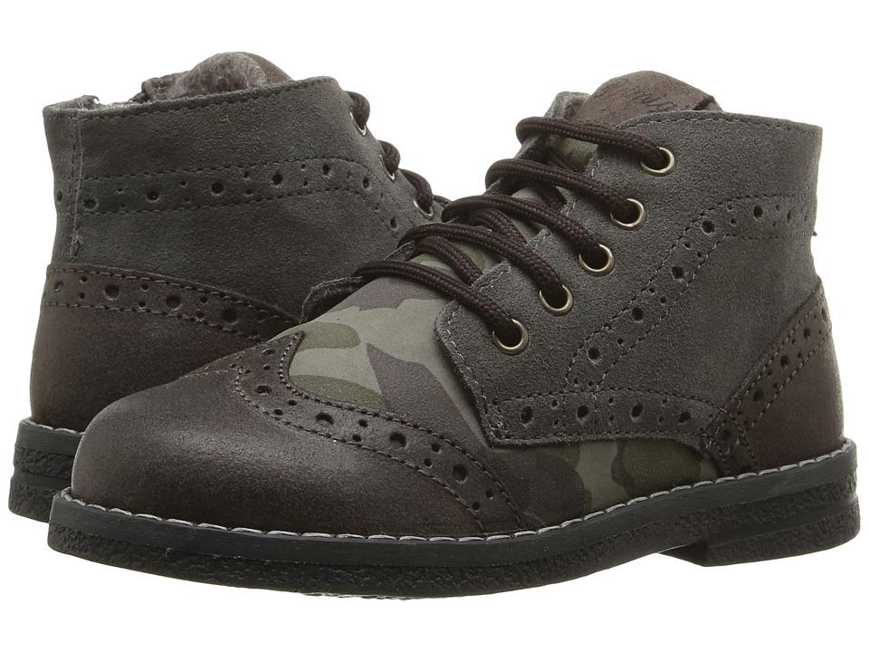 Primigi Kids - Ariosto (Toddler) (Brown) Boys Shoes