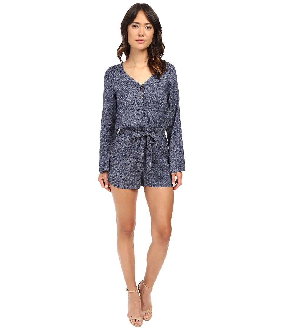 Sanctuary - Naomi Romper (Indigo Mandala) Women's Jumpsuit & Rompers One Piece