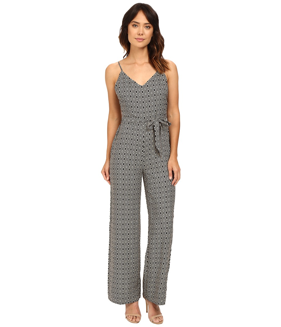 Sanctuary - Harper Jumpsuit (Black Diamond) Women's Jumpsuit & Rompers One Piece