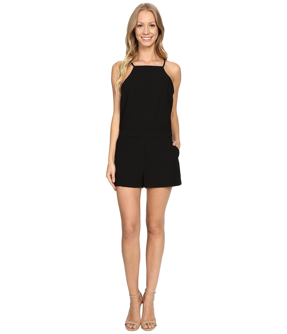Sanctuary - Lora Romper (Black) Women's Jumpsuit & Rompers One Piece