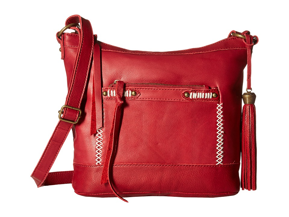 Lucky Brand - Karma Crossbody (Wine) Cross Body Handbags