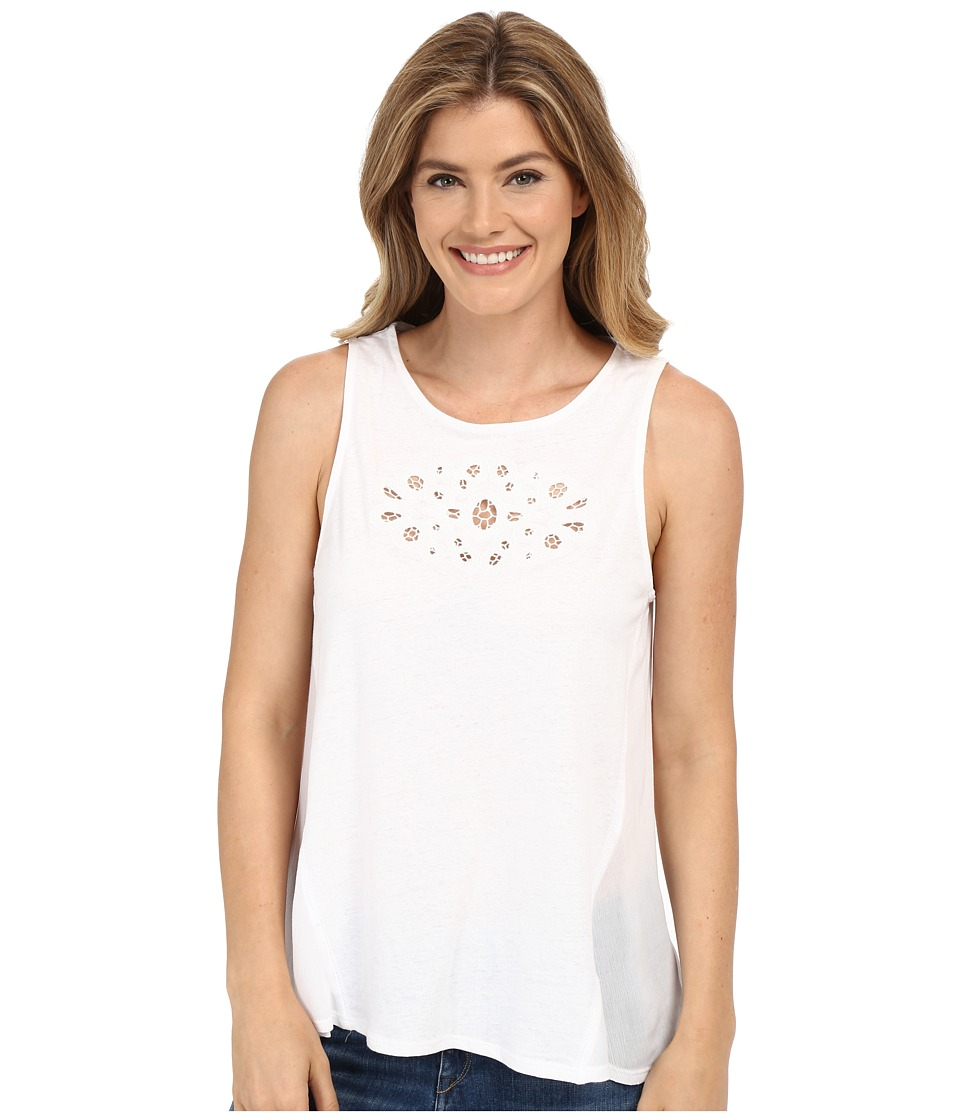 Sanctuary - Blossom Shell Tee (White) Women's T Shirt
