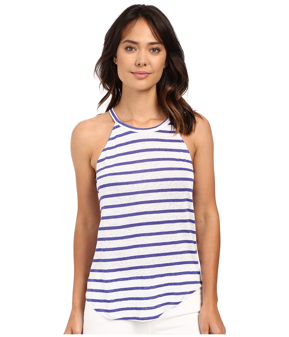 Sanctuary - Chelsea Halter Tank Top (Indigo Multi) Women's Sleeveless