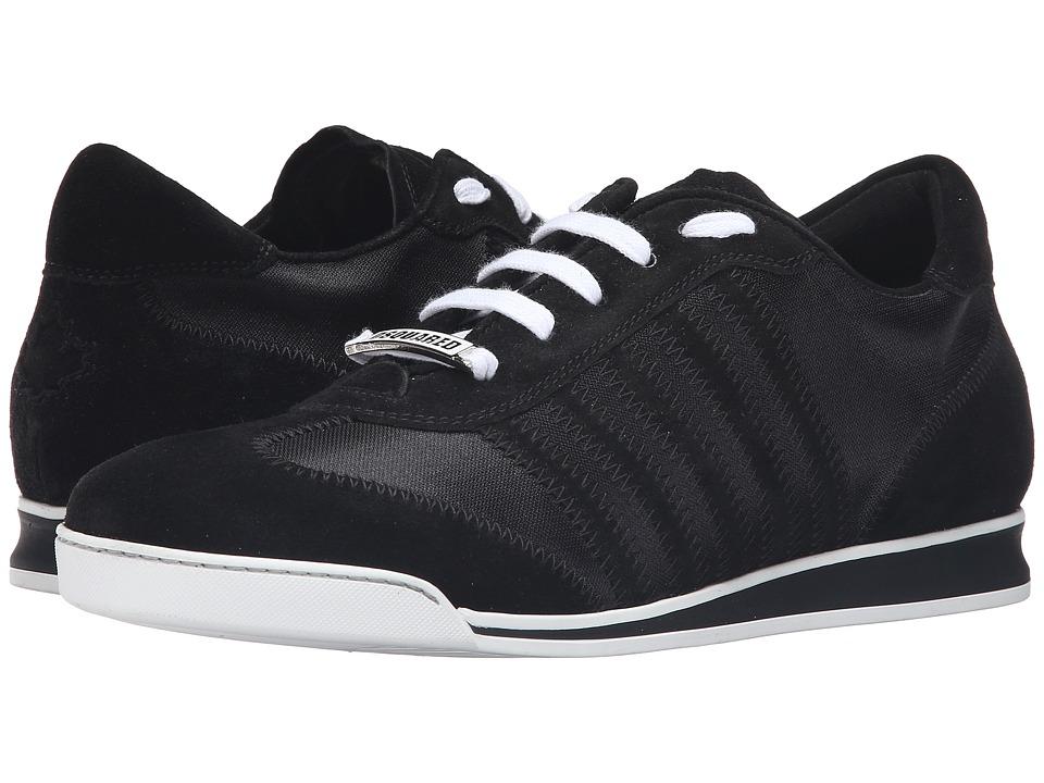 DSQUARED2 - New Runner Sneaker (Nero) Men's Shoes