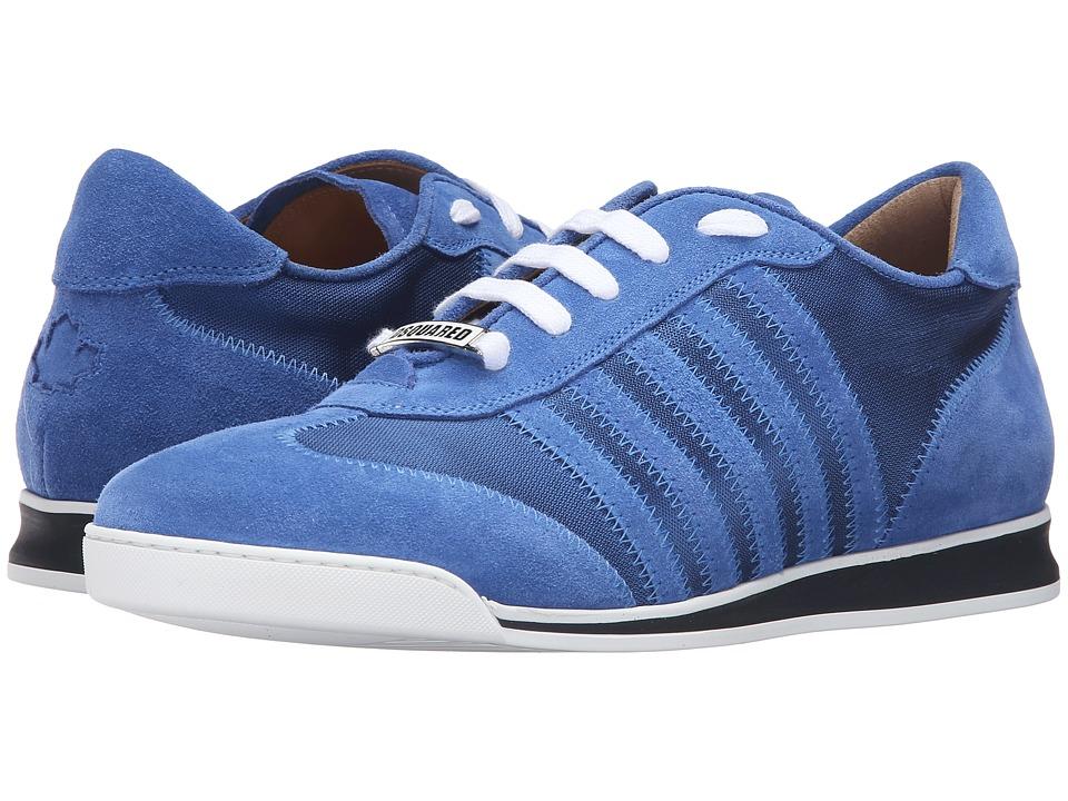 DSQUARED2 - New Runner Sneaker (Blue) Men's Shoes