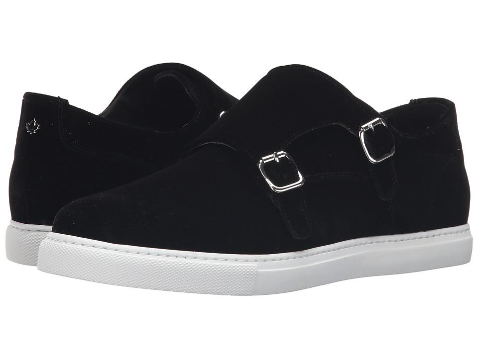 DSQUARED2 - Double Monk Strap Sneaker (Nero) Men's Monkstrap Shoes