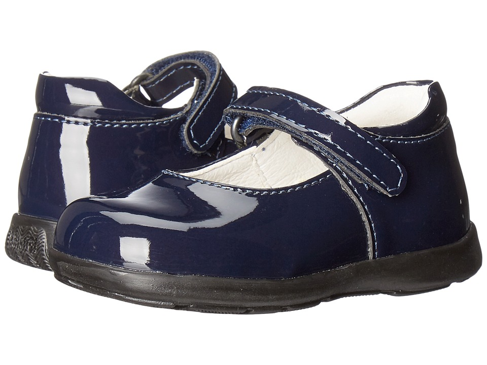 Primigi Kids - Andes (Toddler) (Blue Patent) Girl's Shoes