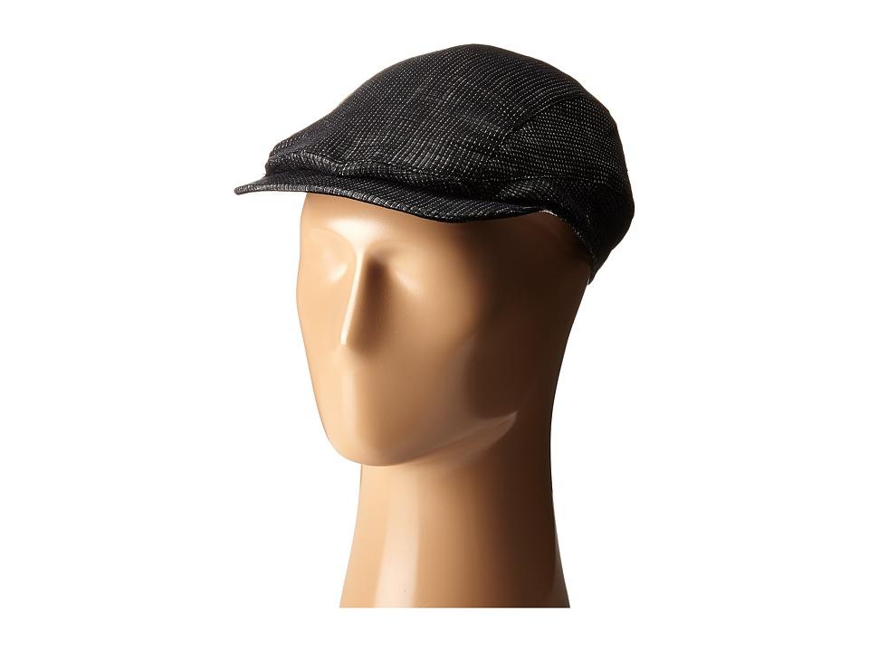 John Varvatos Star U.S.A. - Ivy Hat (Ebony) Caps